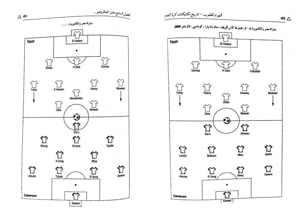 طريقة لعب منتخب مصر نيلسون