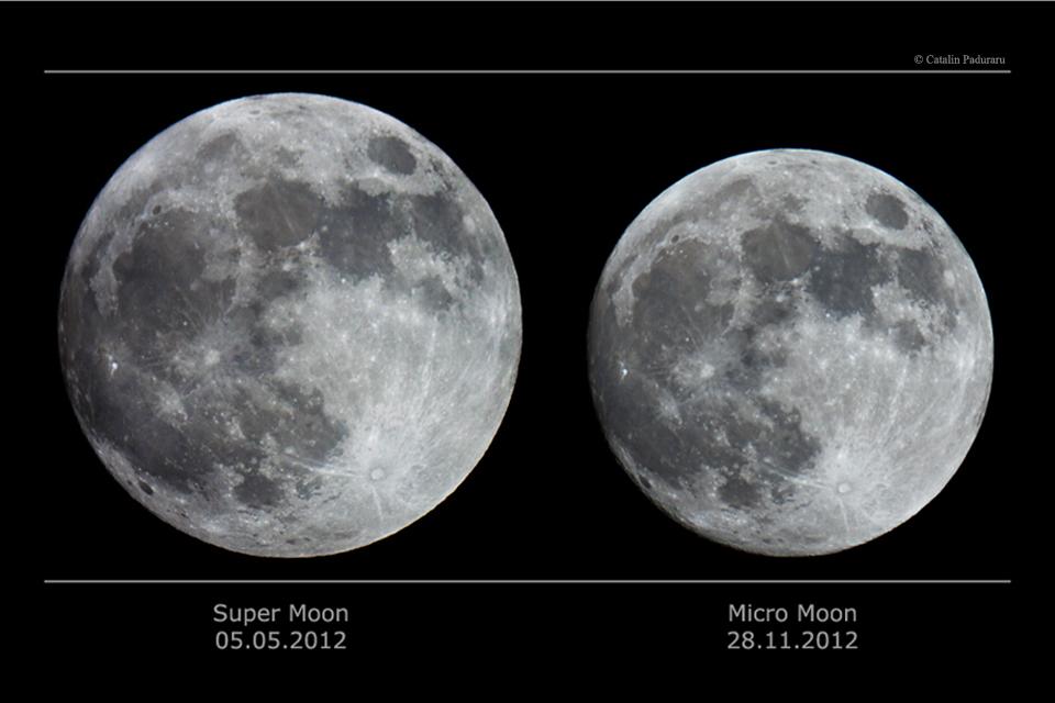 السوبر مون القمر العملاق