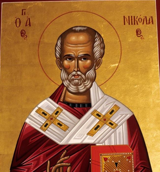 رسم القديس نيكولاس
