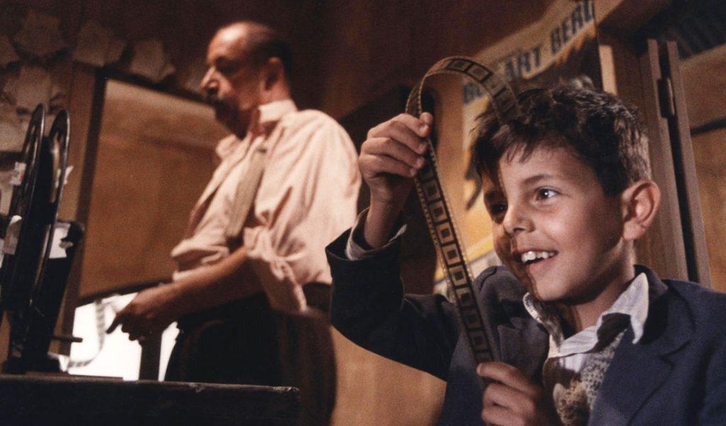 الصغير توتو من فيلم Cinema Paradiso