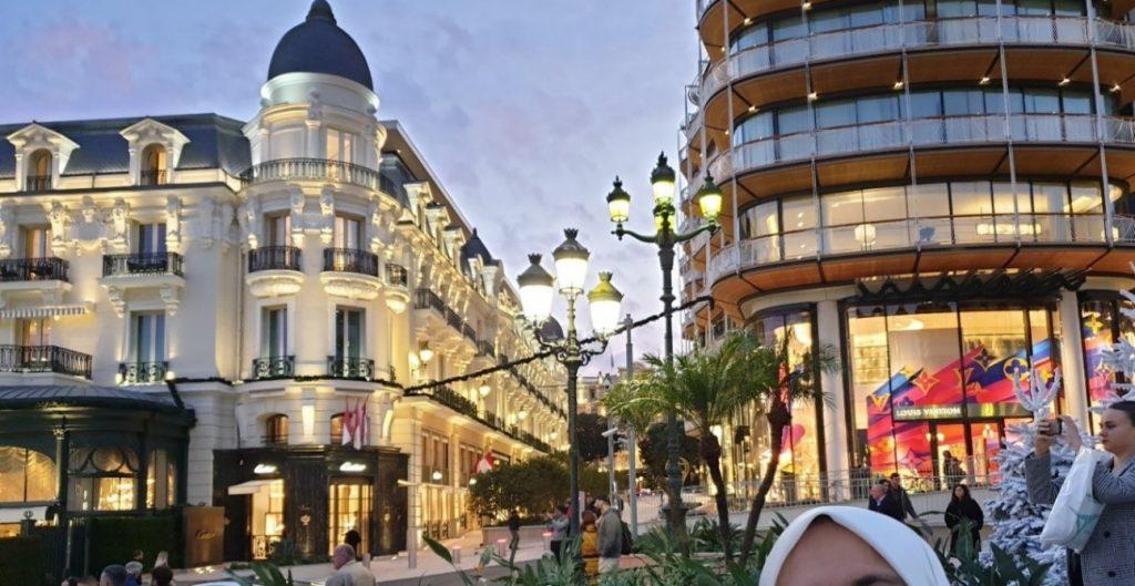 شوارع التسوق في مونت كارلو