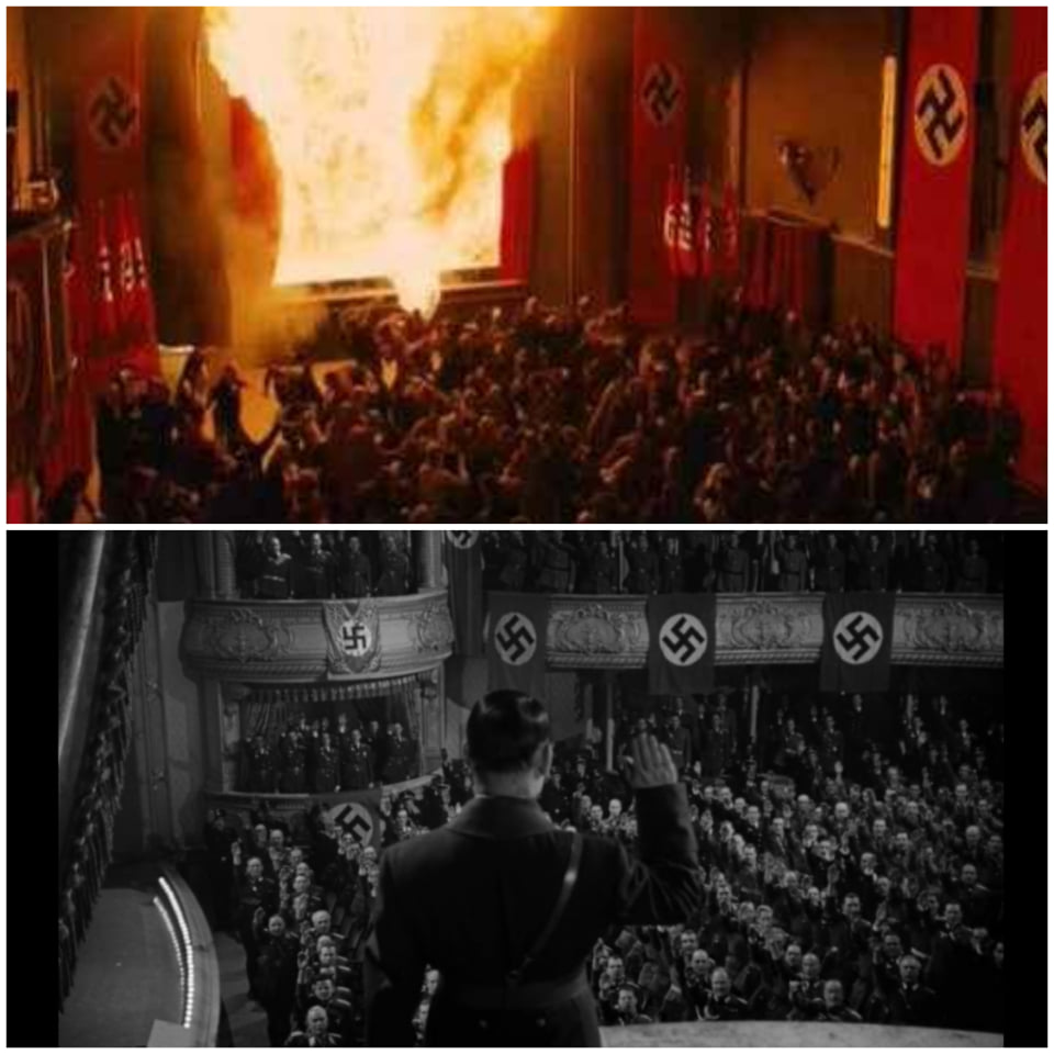Inglourious basterds 2010, to be or not to be 1942