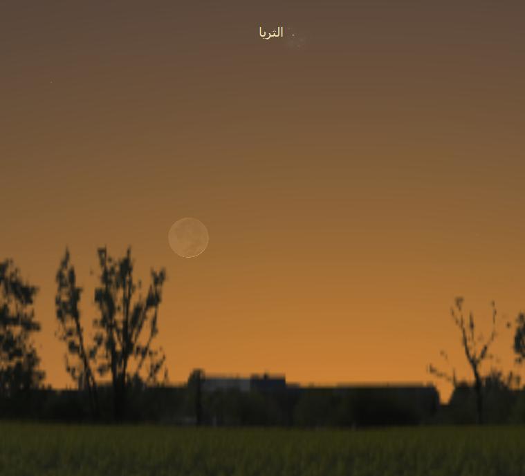 رصد فلكي سماء الليل