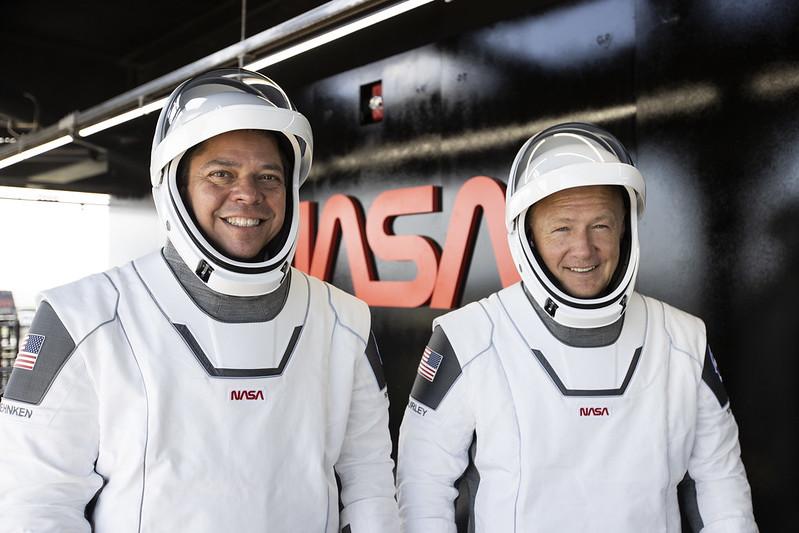 فضاء ناسا محطة الفضاء الدولية رجحلة للفضاء سبيس اكس space x nasa