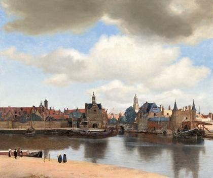 لوحة View of Delft