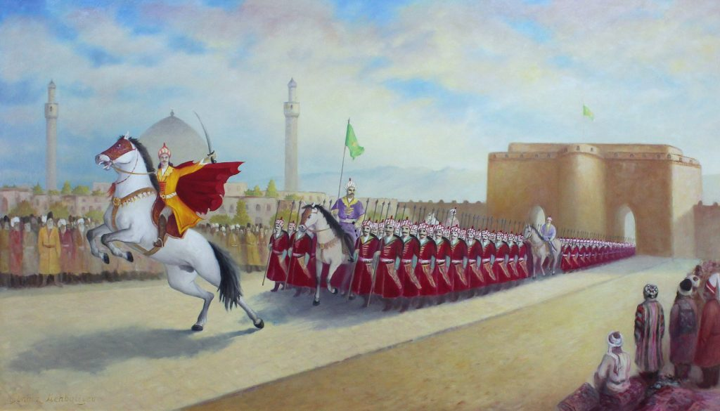 إسماعيل الصفوي ينصب نفسه شاهاً ويؤسس الدولة الصفوية