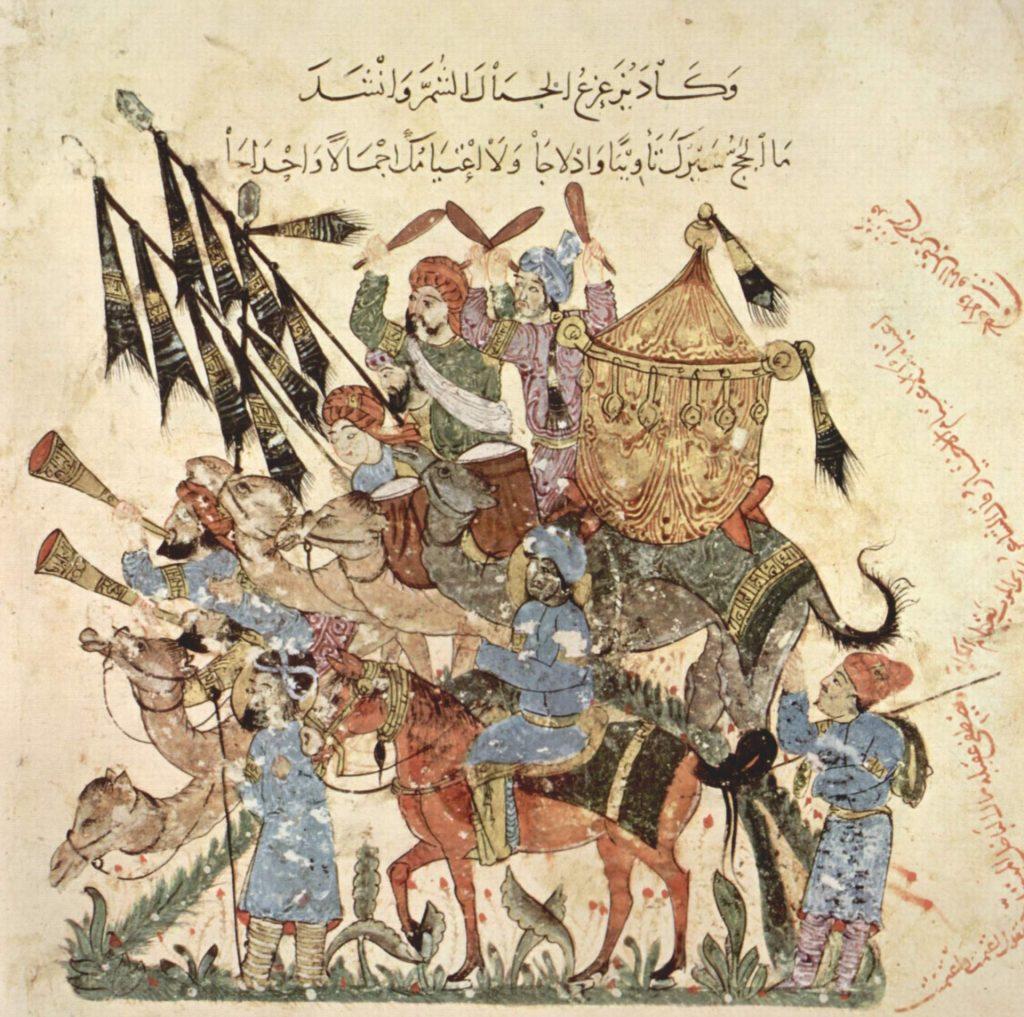 قافلة من العصر المملوكي إلى مكة