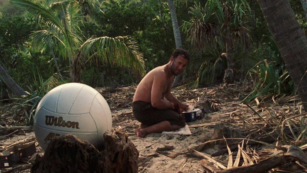 توم هانكس من فيلم Cast away