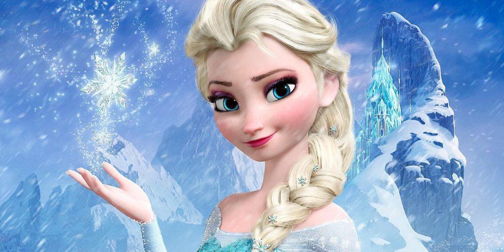 الأميرة إيلسا من فيلم Frozen 2013