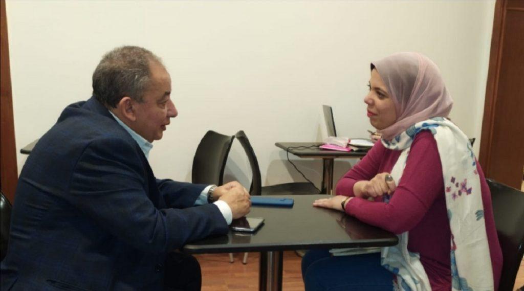 حوار إضاءات الخاص - رنا الجميعي مع الأديب المصري محمد المنسي قنديل
