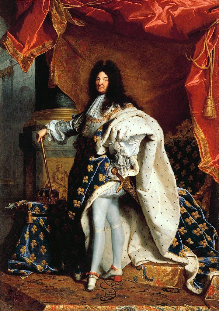 بورتريه أبدعه هياسنته ريغو للويس الرابع عشر عام 1701