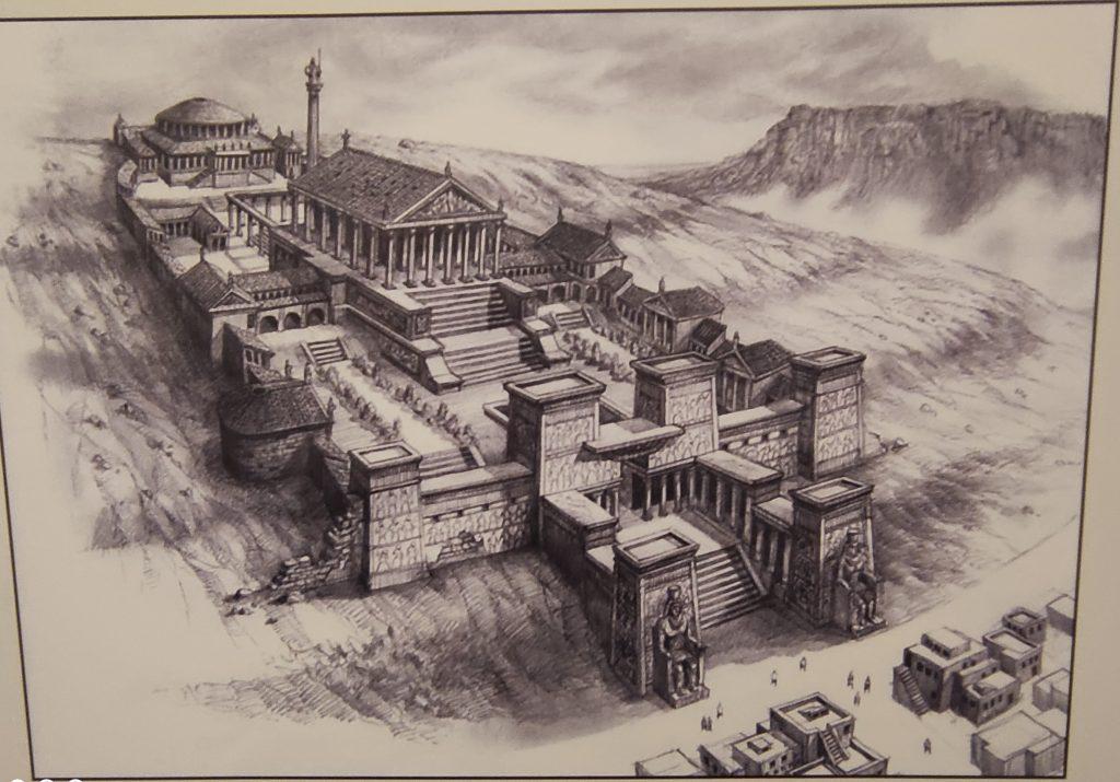 رسم تخيلي لمكتبة الإسكندرية