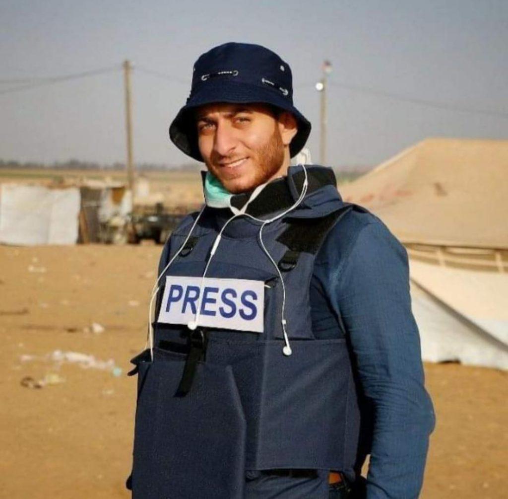 زياد عبد الهادي - مراسل جريدة اليوم الإخباري بقطاع غزة