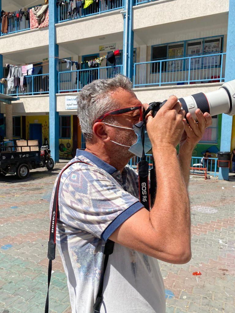 محمد عبد - مصور وكالة الأنباء الفرنسية بقطاع غزة