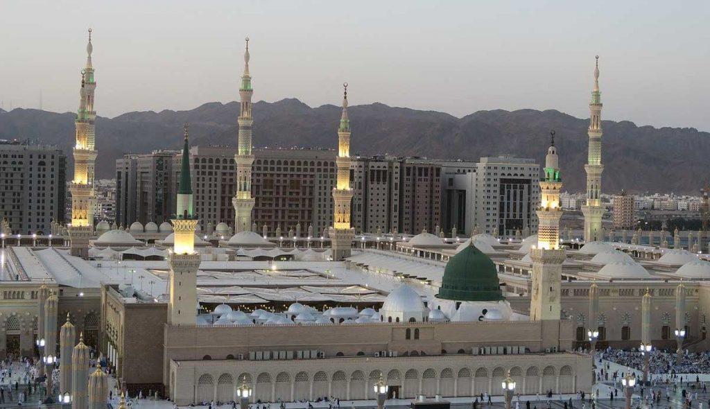 قباب المسجد النبوي