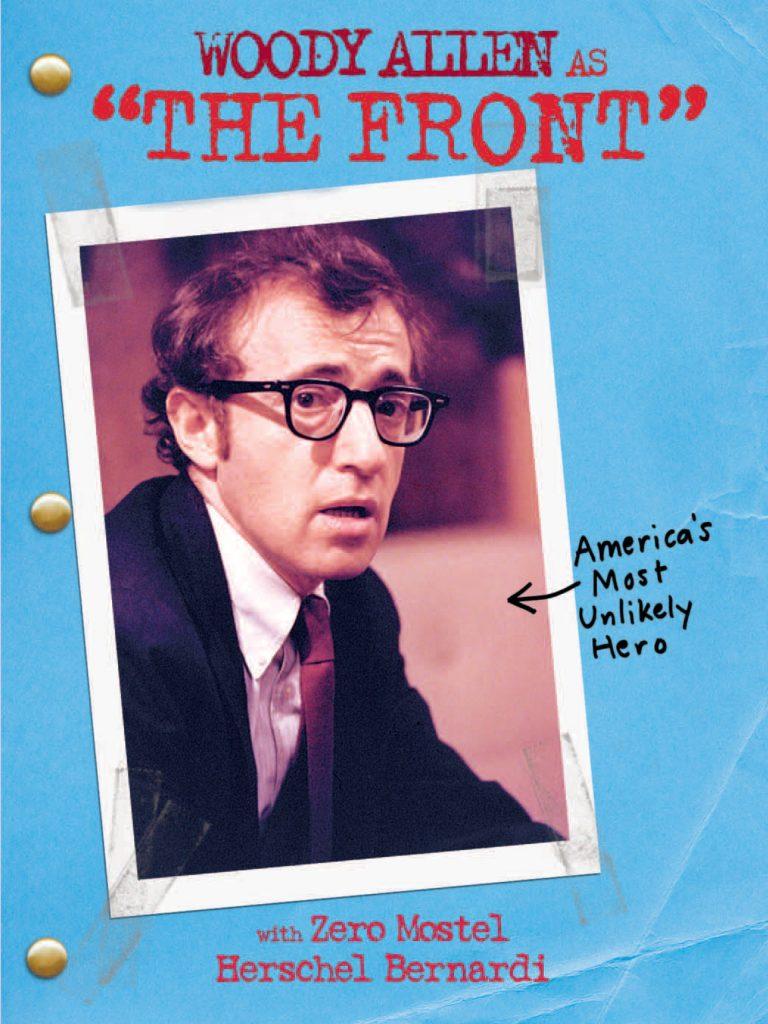 الملصق الدعائي لفيلم The Front