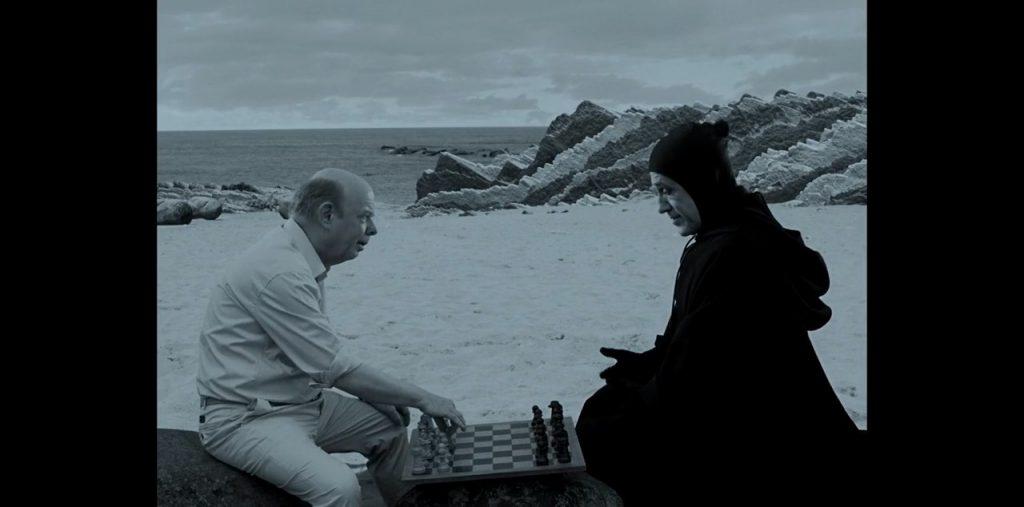 مشهد الشطرنج من فيلم The Seventh Seal